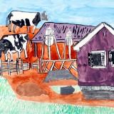 「音更町にある農場」佳作 大串 泰貴下音更小学校