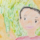 「きゅうりをとったよ」銀賞 全 パウロ昭和小学校1年