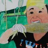 「おいしいトウキビ」佳作 荻野 直喜昭和小学校6年