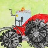 「トラクター」山岸 楓音更小学校