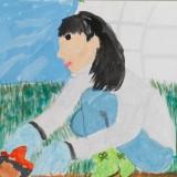 「秋のしゅうかくさい」金賞 小川 栞昭和小学校