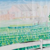 「牧場の風景」西 佑花柳町小学校