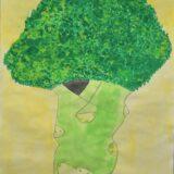 銀賞 稻延真也さん 『木みたいなブロッコリー』